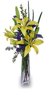 Lily Thank You Flower Arrangement