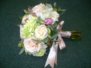 Royal Bridal Bouquet Created by Tina of Perfect Rose Floral Design, East Islip NY