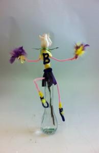 Cheerleader Flowers - Novelty Flowers