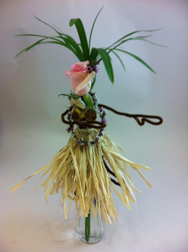 Hula Girl Flowers - Luau Flowers