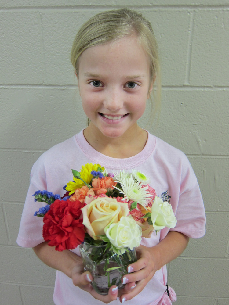 Flower Arranging With Kids