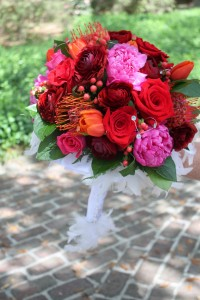 Royal Bouquet Created by Sylvia of Carolina Floral Design, Beaufort, SC