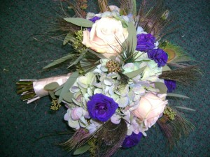 Royal Wedding Flowers Created by Tina of Perfect Rose Floral Design, East Islip NY