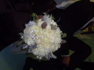 Royal Wedding Flowers Created by Libby of Libby's Flowers, Gifts & More, Elberton GA