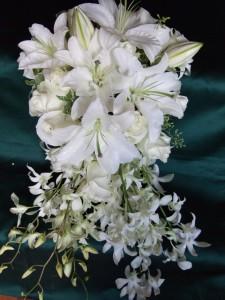 Royal Wedding Flowers Created by Nancy of Alma Blooms, Alma WI