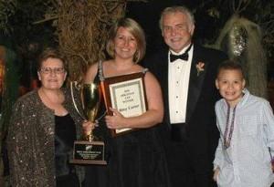 Florist Bitsy Carter & Family