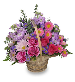 Traditional Mothers Day Basket