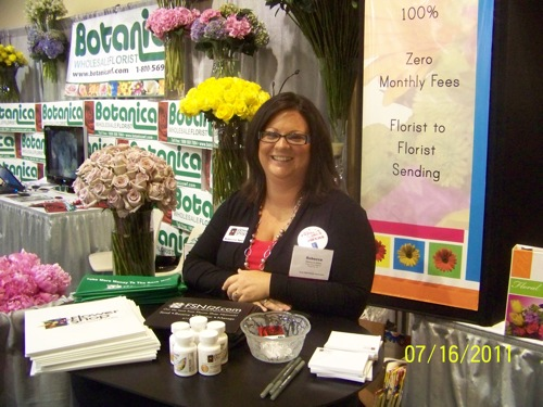 Flower Shop Network at the Texas State Florist Convention 2011