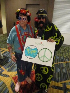 Hippies at AIFD's Imagine Symposium