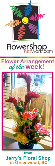 Jerry's Floral - First Arrangement of the Week!