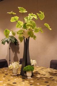 Floral Design For Presidential Dinner