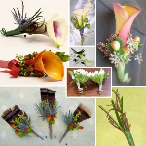 Natural Boutonniere Inspiration