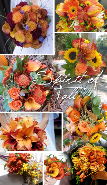 Fall Wedding Bouquet Trends