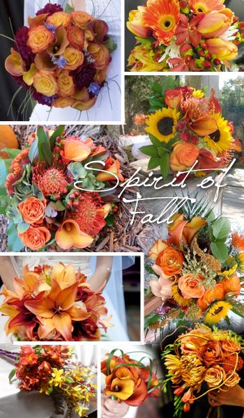Fall Wedding Bouquet Trends