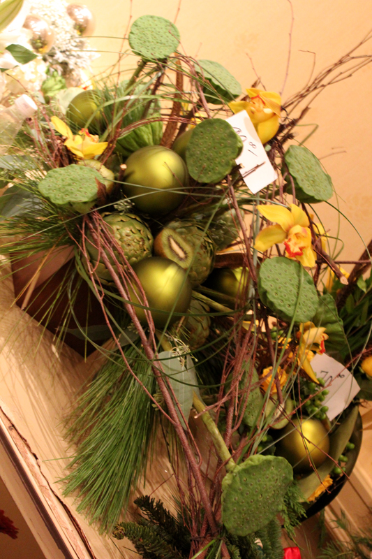Kiwi Used In Floral Design