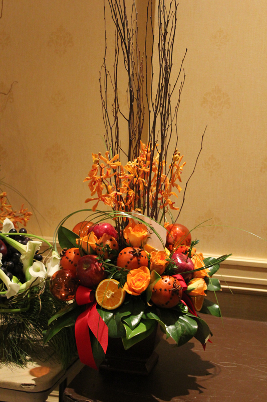 Orange Clove Arrangement