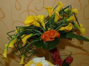 Unique Geometric Wedding Bouquet