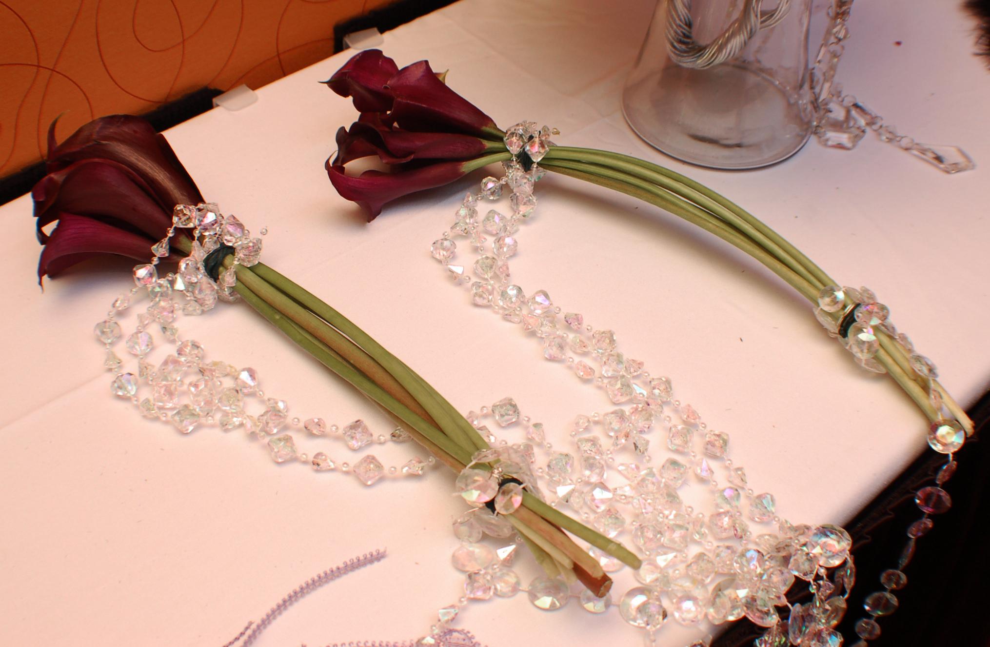 Diamond Calla Wedding Bouquet