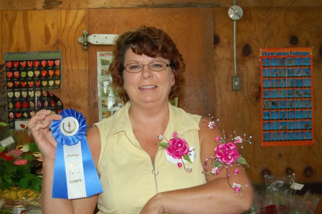 Bonnett's Flower Competition - Corsage Winner