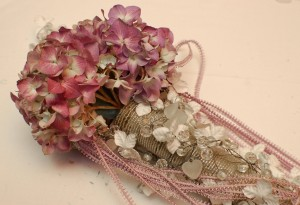 Detailed Wedding Bouquet With Beads