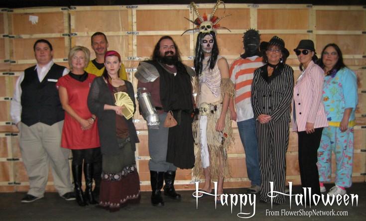 Flower Shop Network Celebrates Halloween