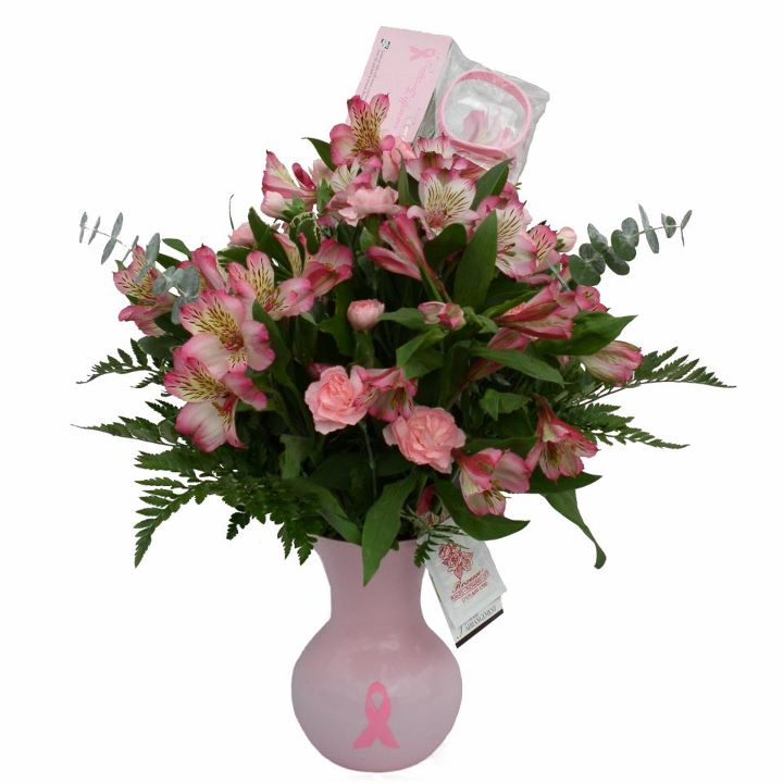 Local Florists Promote Breast Cancer Awareness Month