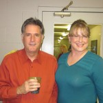 Brenda from Web Services and Marvin from Sales enjoying Thanksgiving today!