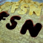 The amazing FSN Pie! Didn't get ate because no one wanted to cut it! Haha.