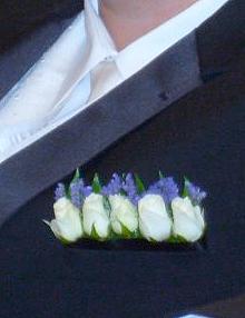 Pocket Square Inside Tuxedo
