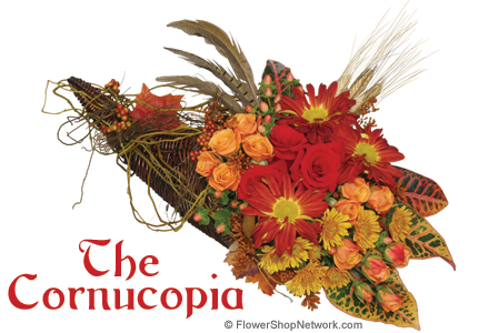 Thanksgiving Cornucopia - Holiday Decor