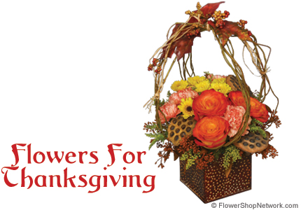 Thanksgiving Flowers – A Style For Everyone