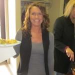 Tracy our receptionist enjoying her yummy food.