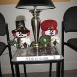Our lobby's Christmas decor!