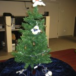 The tree in our technology department... they decorated it themselves..