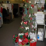 The Christmas tree in our sales department!