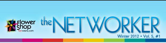 Flower Shop Network Winter Networker