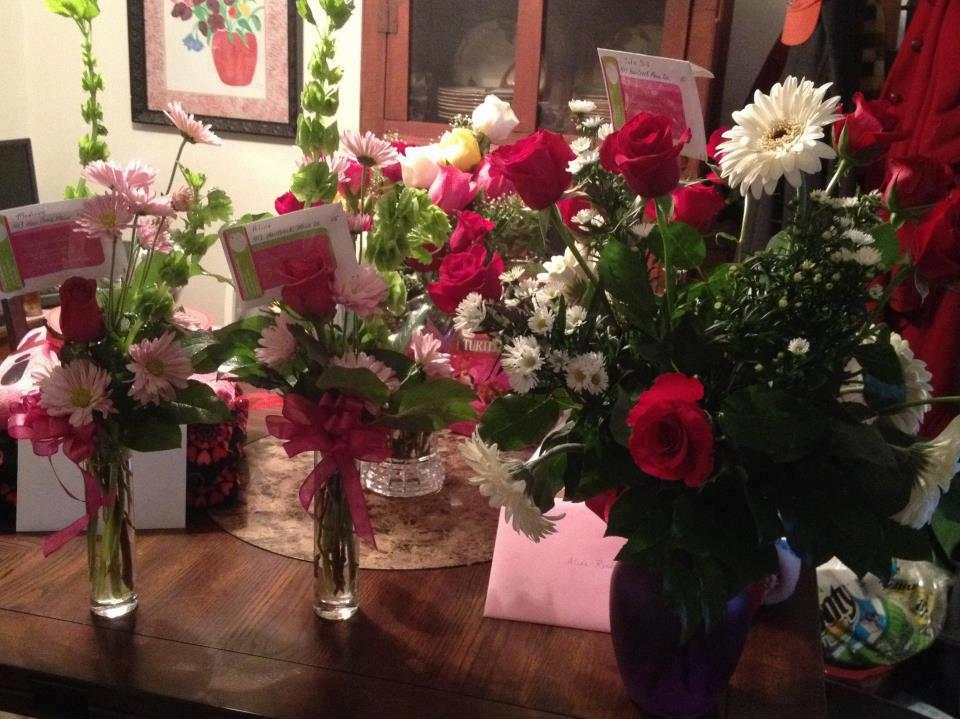 how local florists made valentines day a success, Ideas