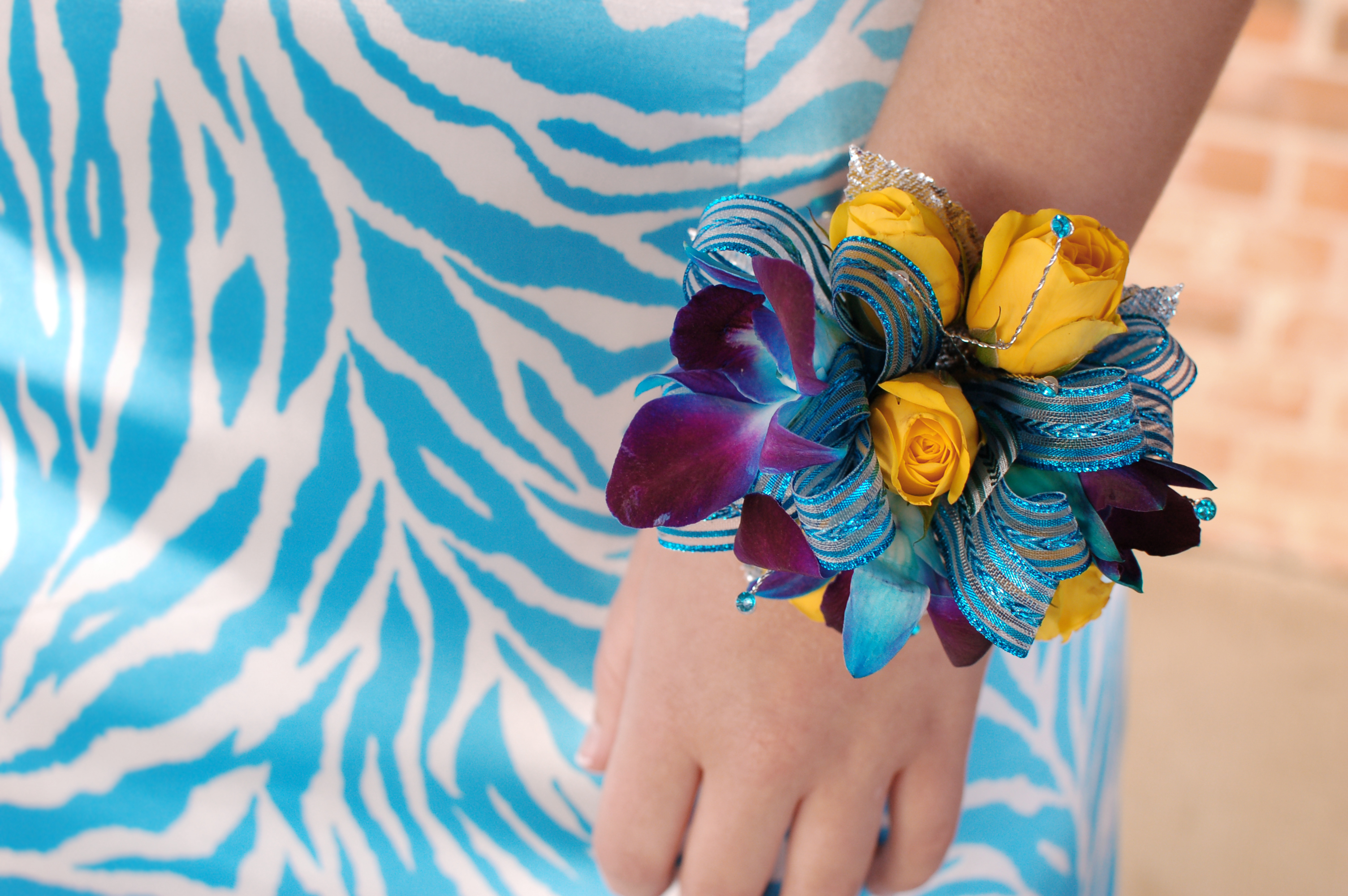 Corsage Inspiration Blue