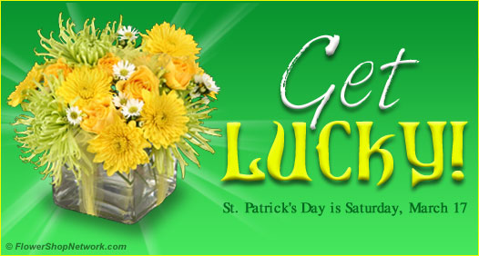 Lucky St Patrick's Day