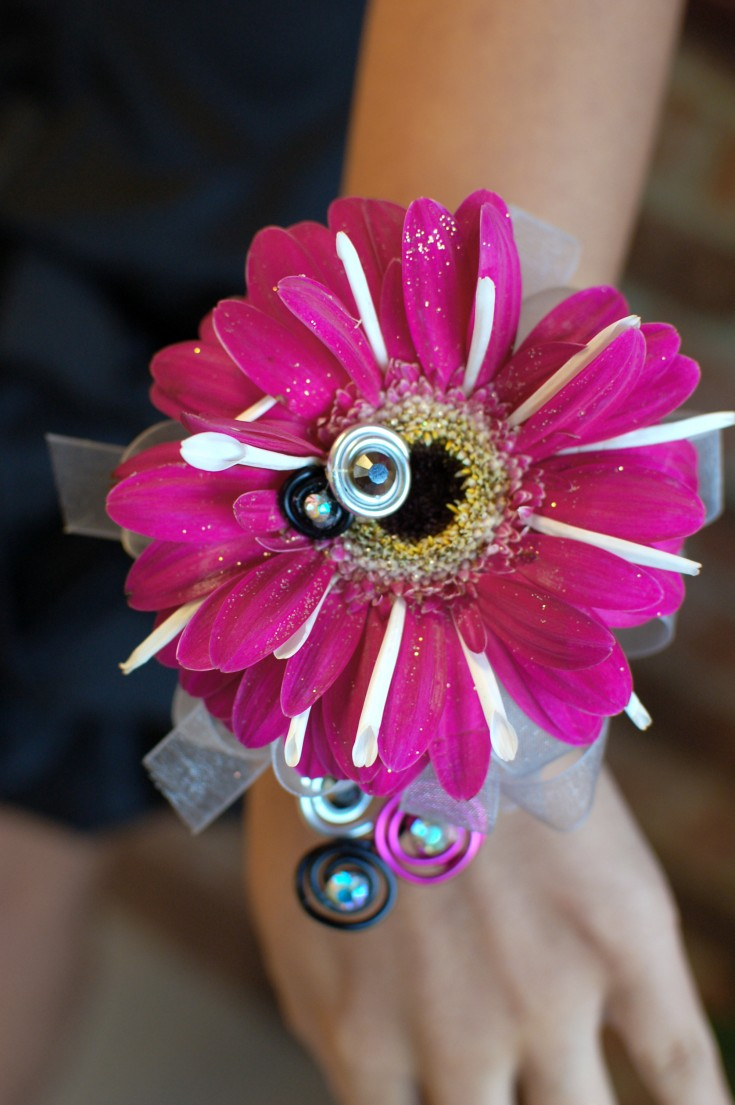Fun and Playful Prom Corsage