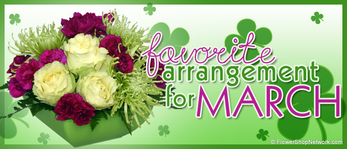 March Favorite Flower Arrangement