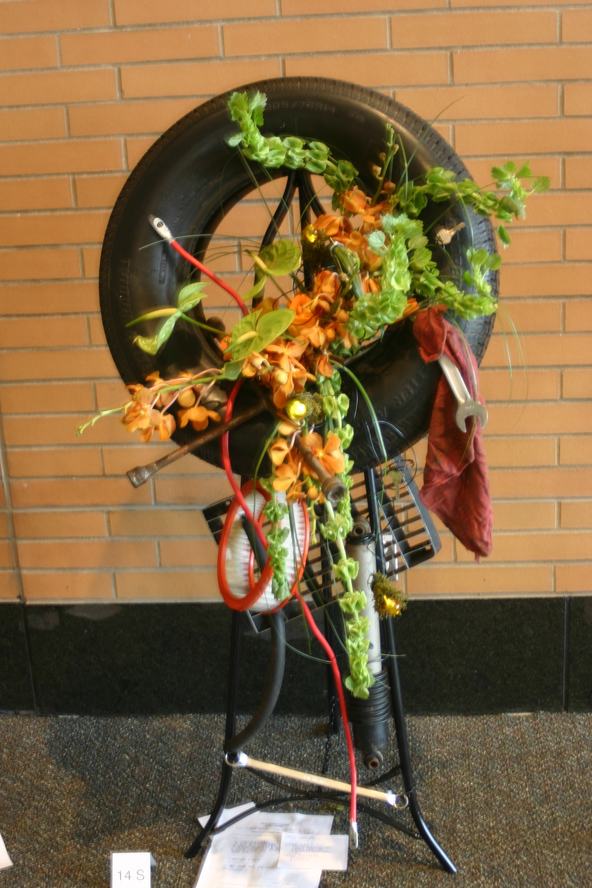 Photos from the great lakes floral expo mechanic themed flowers izmirmasajfo