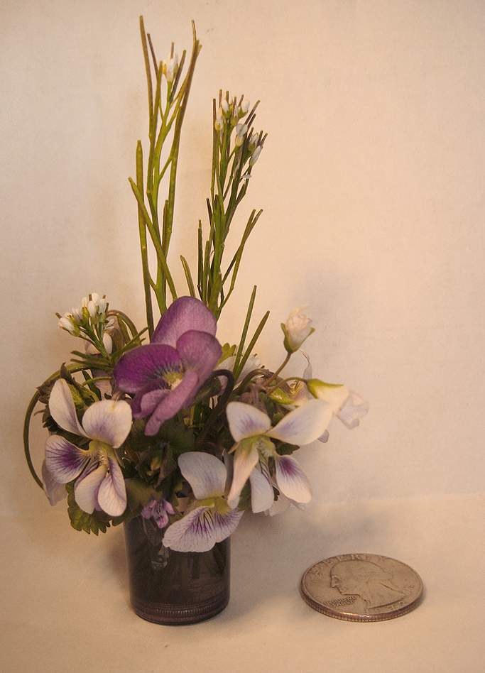Miniature Flower Arrangement