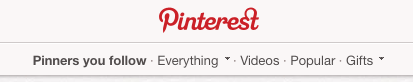 Everything on Pinterest
