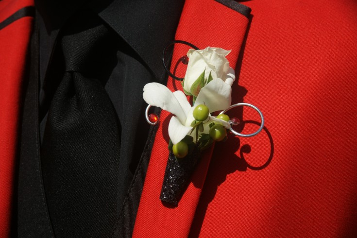 Wire Prom Boutonniere
