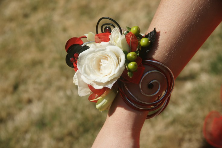 Wire Prom Corsage