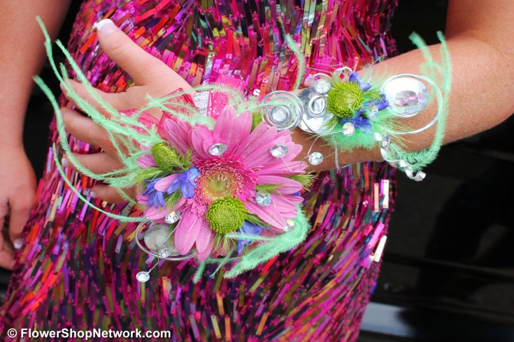 Pink Prom Corsage