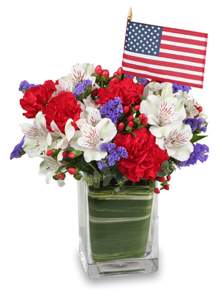 4th of July Themed Flowers