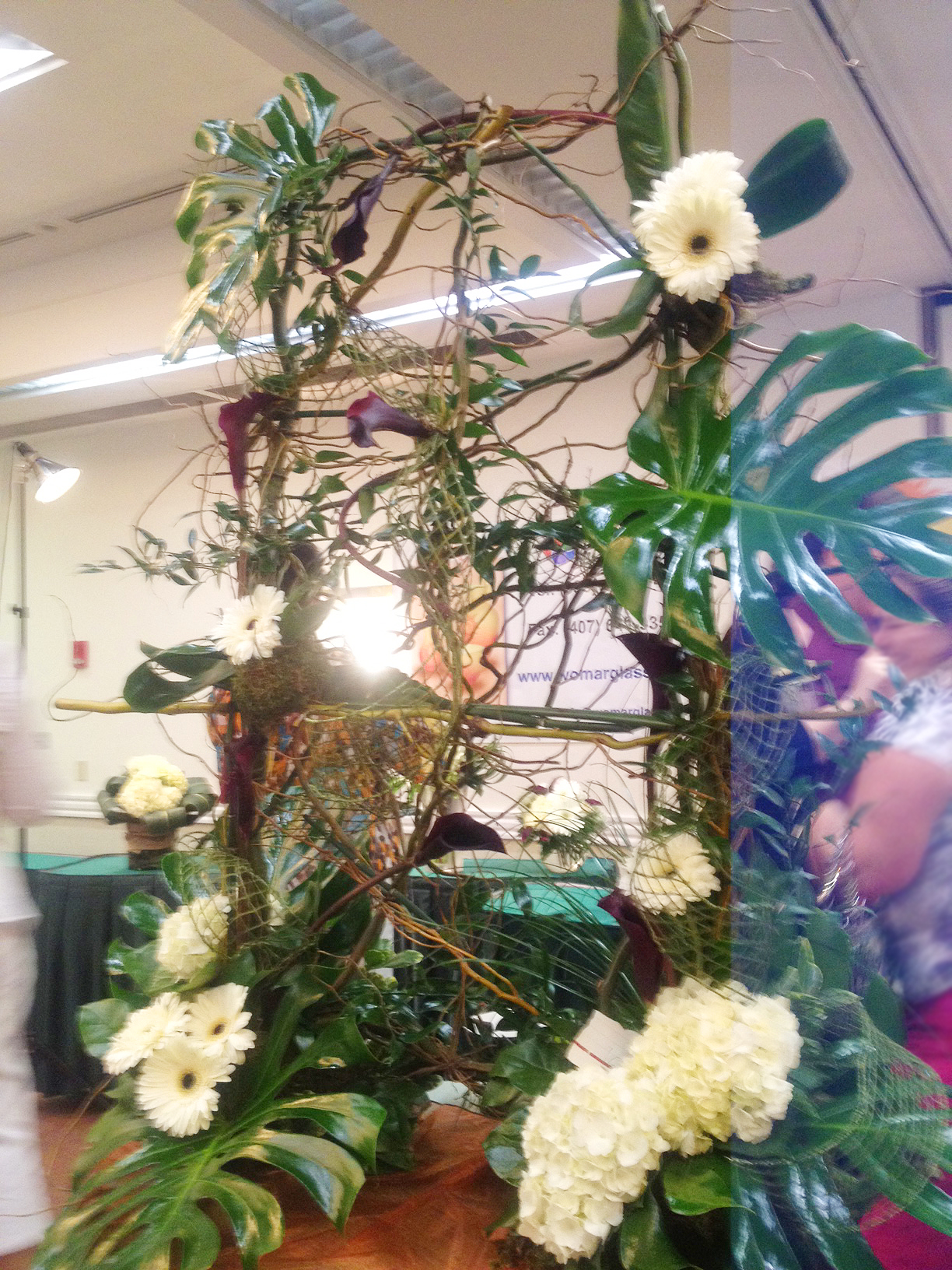 Crevasses Florist Part - 15: Large Floral Design at FSFA Convention