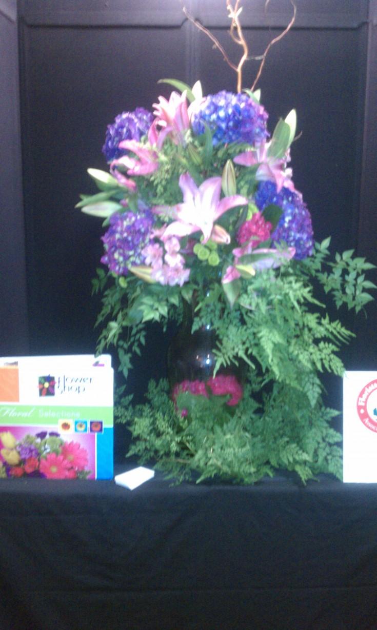 Flower Arrangement at Louisiana State Florist Association